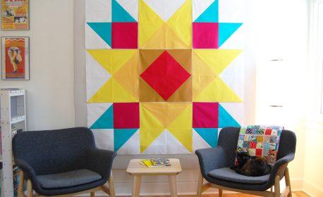 Union Square Big Block Quilt