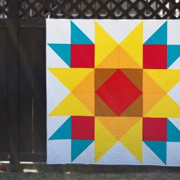 Union Square Big Block Quilt