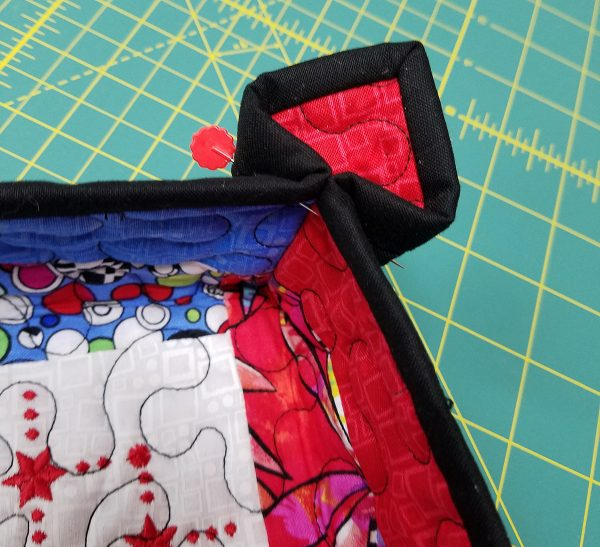 Quilted Tray - creating the tray