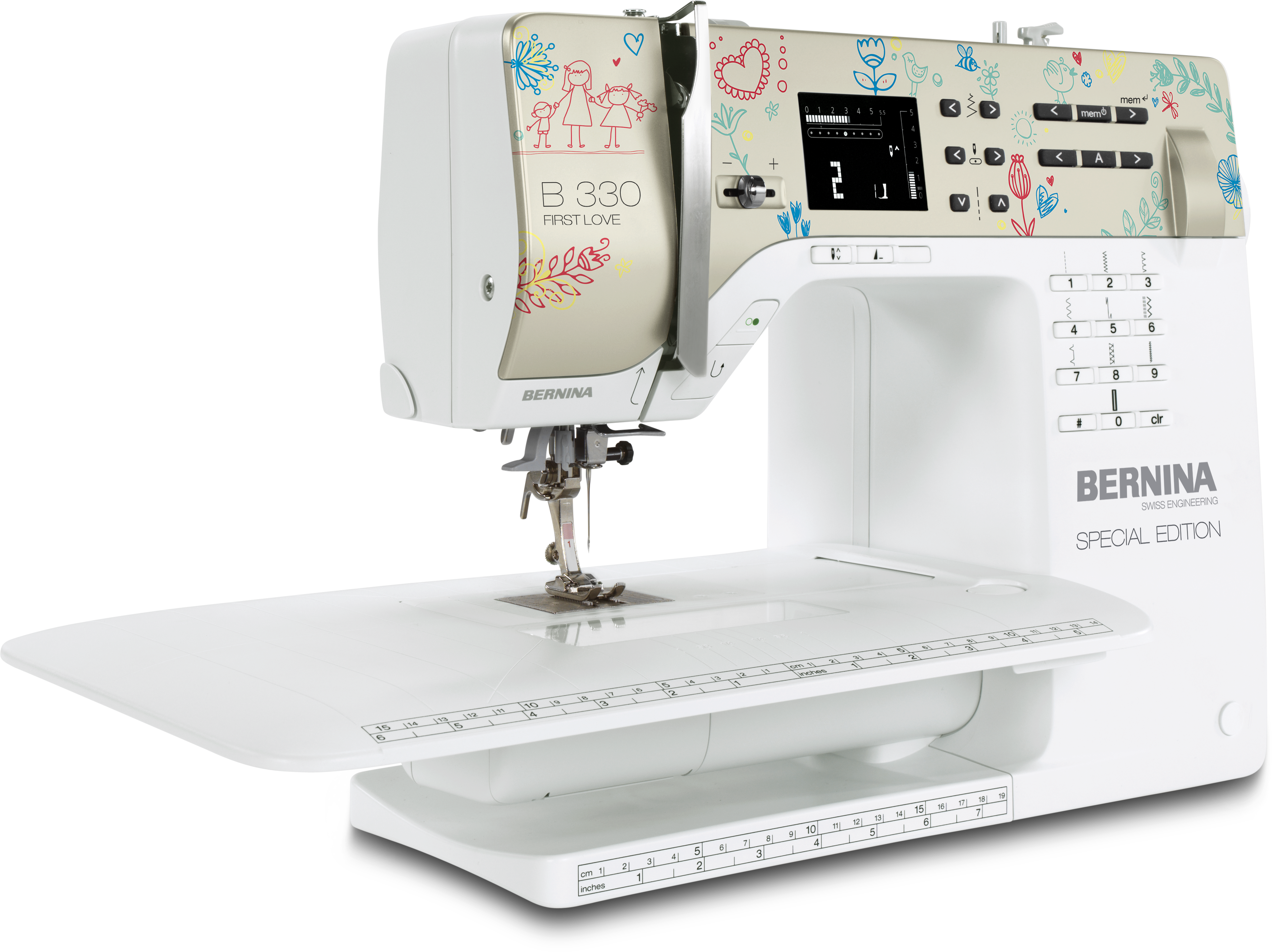 Introducing the BERNINA 330 Special Edition First Love with