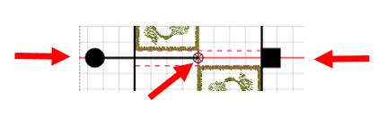 Greek Key Floral Border - center design