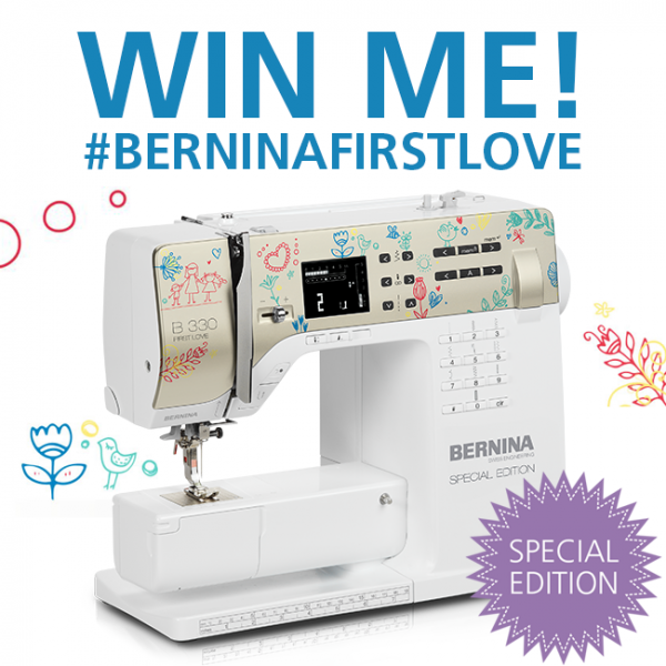 BERNINA First Love Giveaway on Instagram