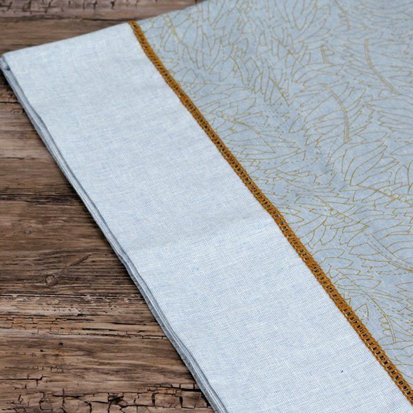 Luxe Linens - hemstitch close up