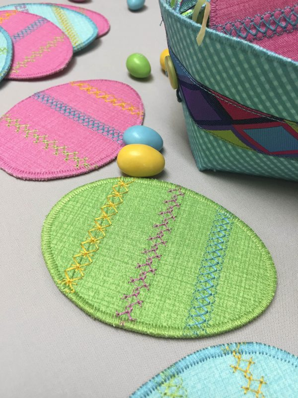 Decorative Stitched Egg Tutorial