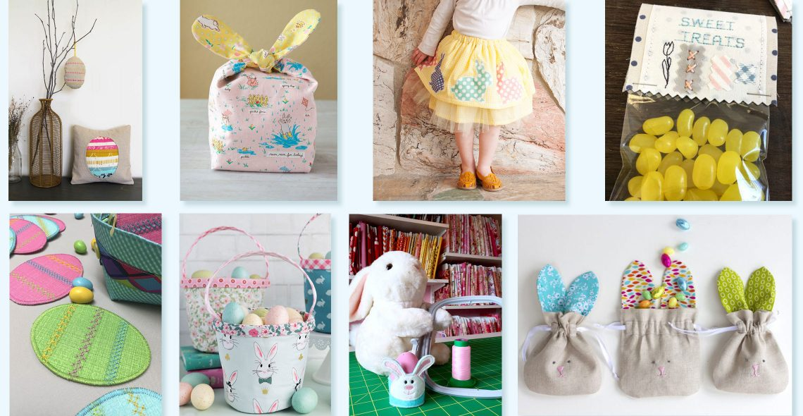 Easter sewing projects from WeAllSew