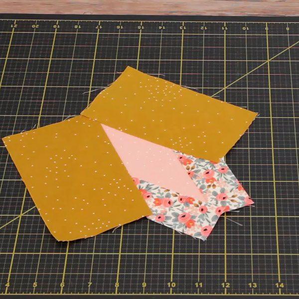 Beginner Paper Piecing, assembled block