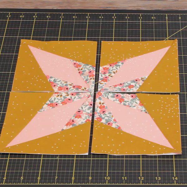 Beginner Paper Piecing, complete blocks