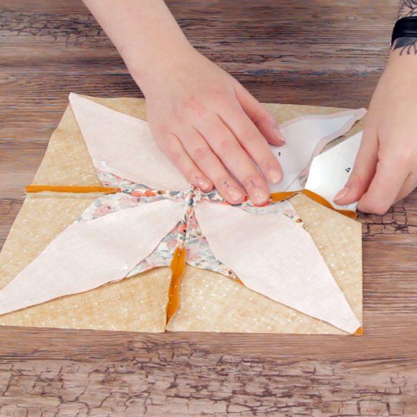 Beginner Paper Piecing, tear paper
