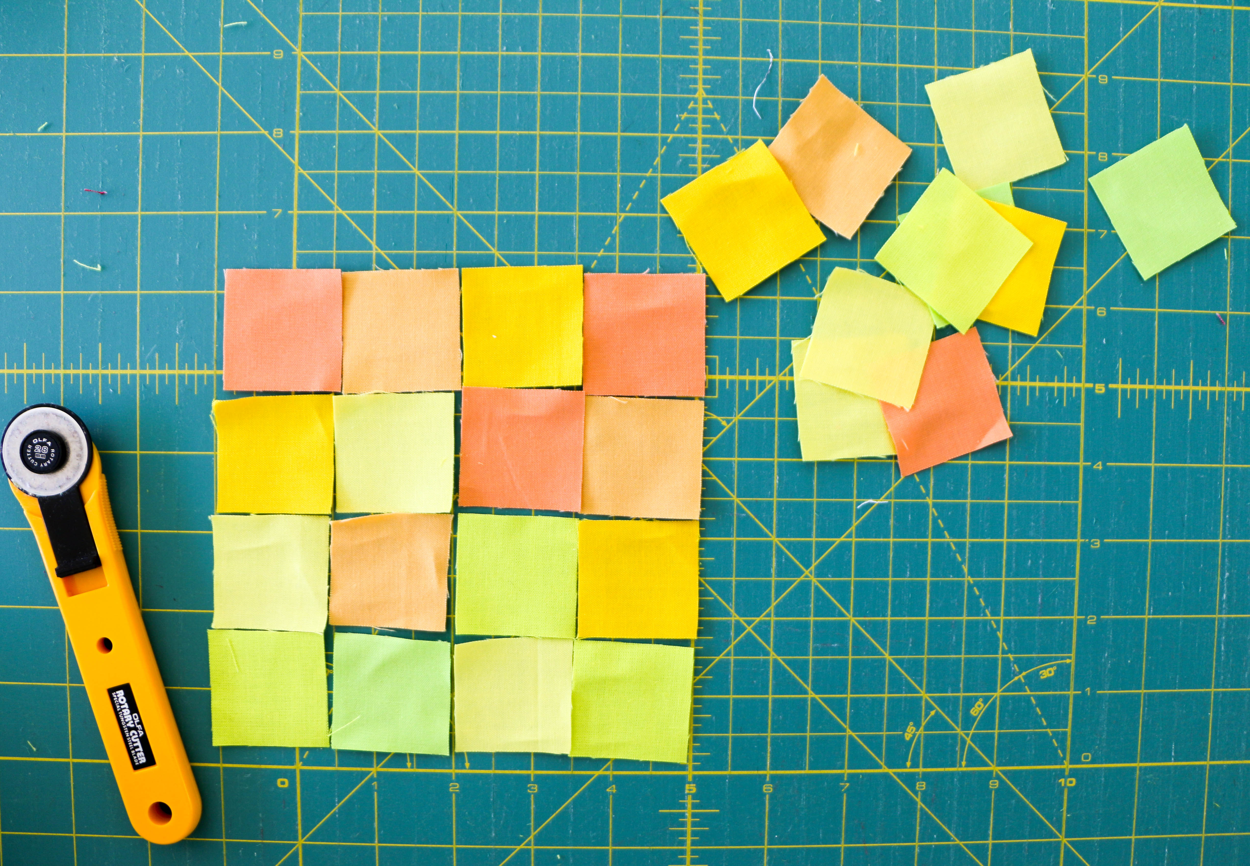 Trendy Tiny Piecing: A Wall-Hanging Project | WeAllSew