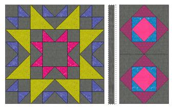 quilt block combination