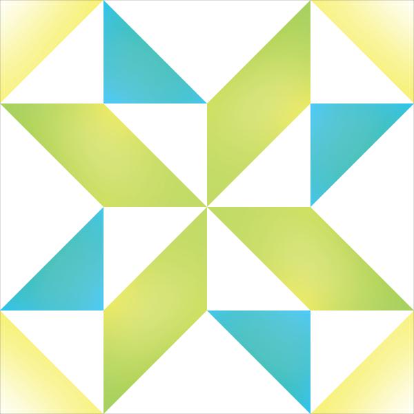 How to Supersize Quilt Blocks : Pinwheel