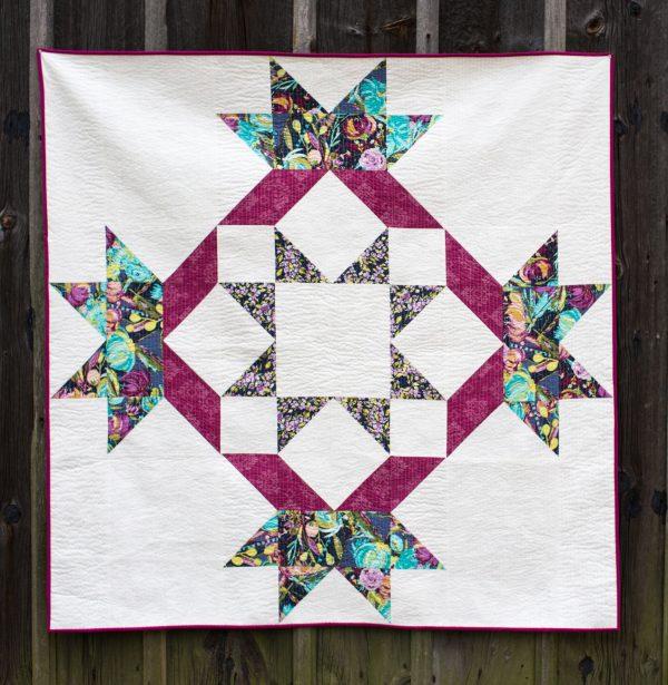 How to Supersize Quilt Blocks : Radiant Splendor Supersized