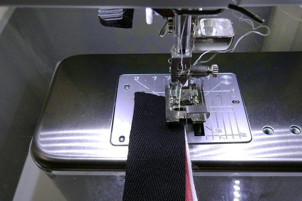 Stacked Trim Tutorial Step 4: sew a narrow seam