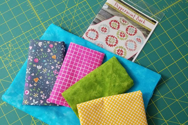 Straight Line Quilting with Q-matic - supplies