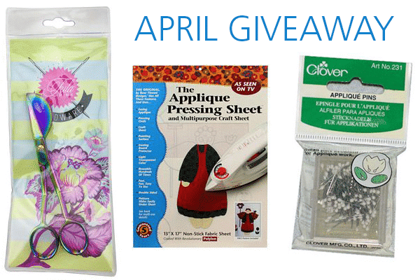 Win an appliqué prize package from WeAllSew