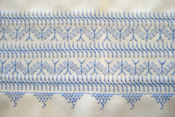 BERNINA stitch recipe