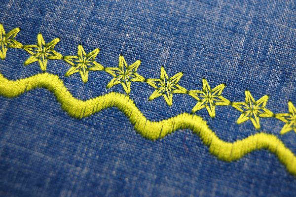 Decorative stitch tips