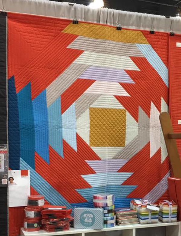 How to Supersize Quilt Blocks : Mega Pineapple Quilt