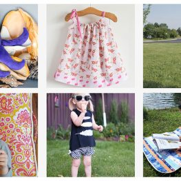 Summer sewing projects for kids