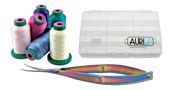 Decorative thread prize package