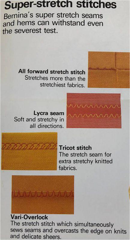 Super stretch stitches
