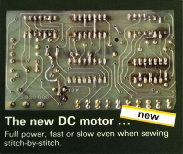 BERNINA DC motor