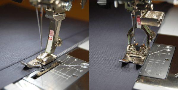 Best feet for garment sewing