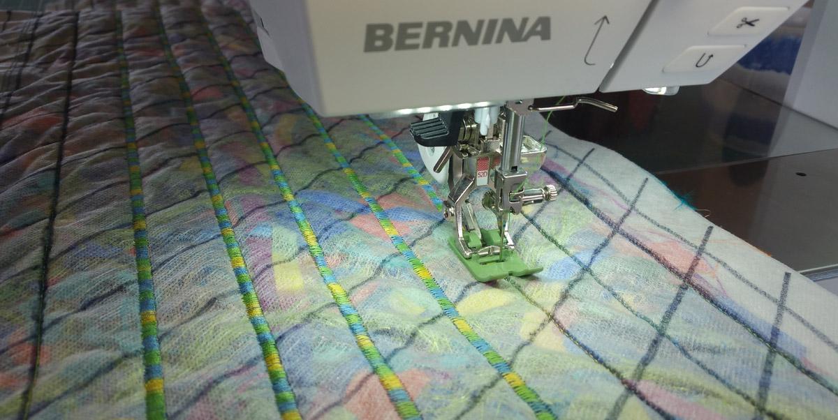 Fabric and Fiber Scarf Tutorial | WeAllSew