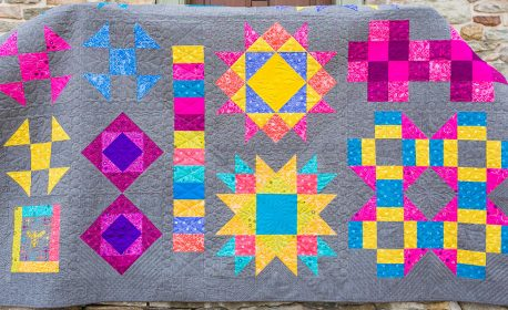 Make the BERNINA Block of the Month Quilt