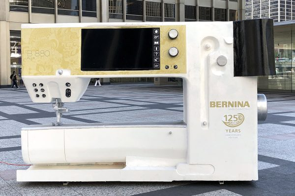 National Sewing Machine Day with BERNINA