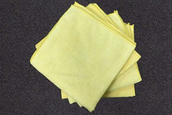 Overlocker Care Cleaning - microfiber towels
