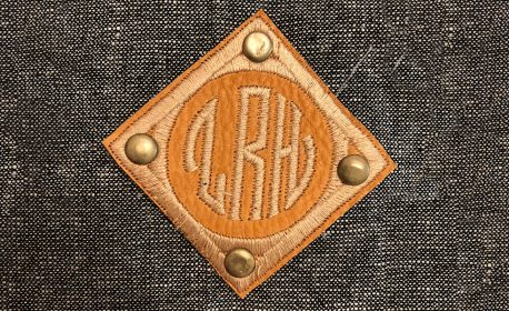 Leather Monogram Patch