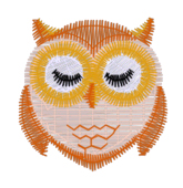 Owl Embroidered Sleep Mask - first owl