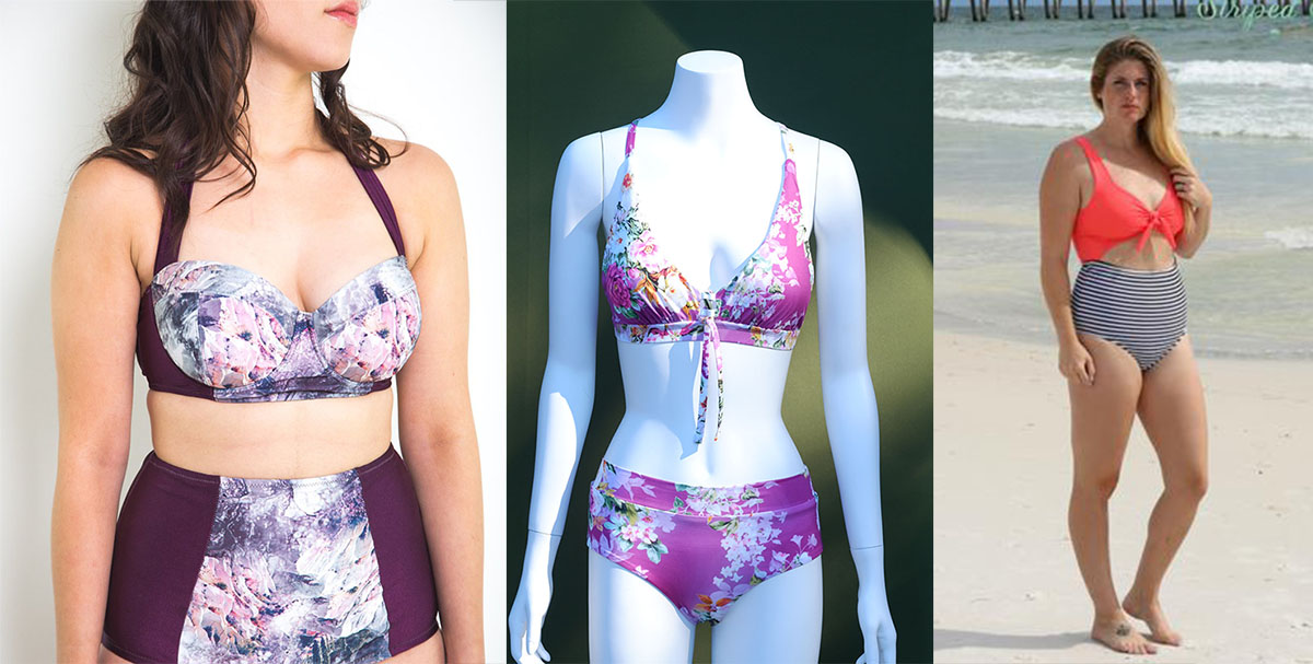 8d52dcbfcdcf0 ... list of swimsuit patterns, both one and two piece. Some are even free!  There are quite a few new patterns this year, but I also included some  classics.