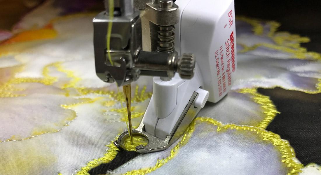 BERNINA Stitch Regulator Tips And Techniques 40 X 40 WeAllSew Classy Sewing Machines With Stitch Regulator