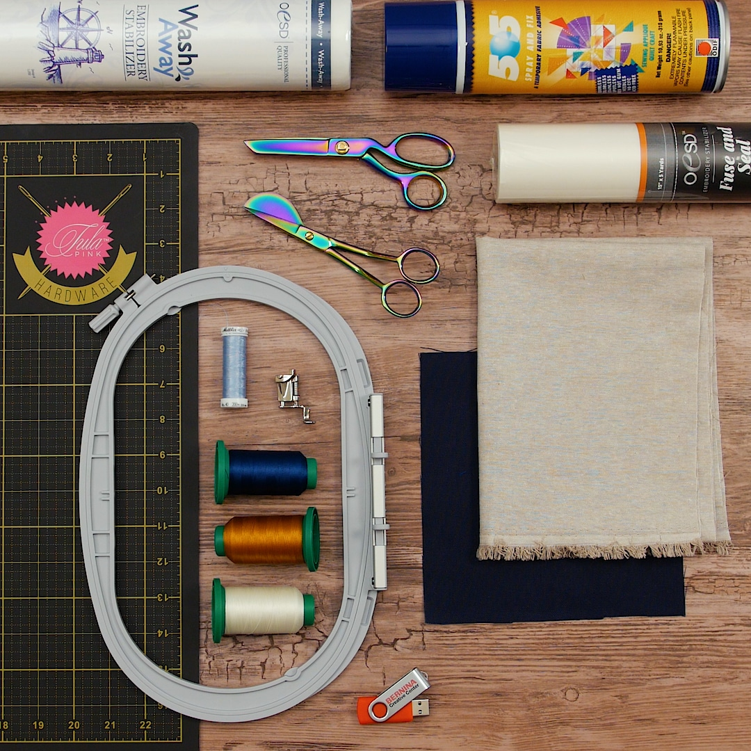 DIY Embroidered Merit Patch | WeAllSew