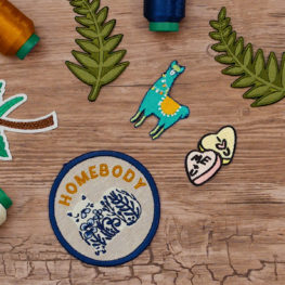 DIY Embroidered Merit Badge