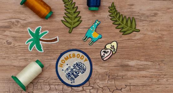 DIY Embroidered Merit Badge