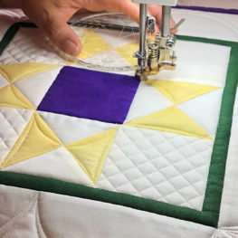 Longarm quilting tip: BSR modes