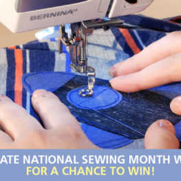 WeAllSew Celebrates National Sewing Month 2018
