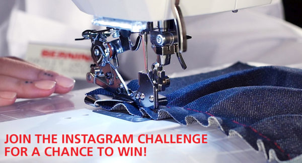 Instagram National Sewing Month Challenge 2018