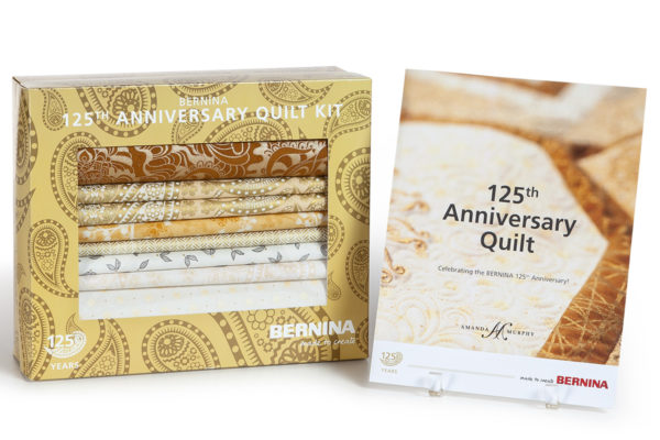 BERNINA 125th Anniversary Quilt Kit