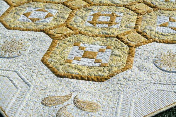 BERNINA 125th Anniversary Quilt-along - Jubilee Quilt details