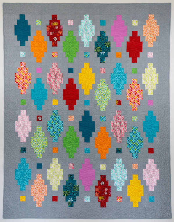Beaded Lanterns Quilt by Christa Watson using Fandangle Fabric
