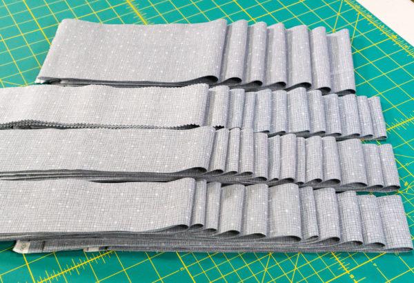 Beaded Lanterns grey strips