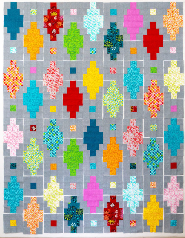 Beaded Lanterns Block Layout