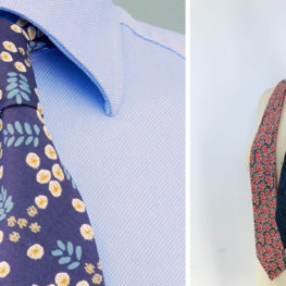 DIY Dapper Tie sewing tutorial
