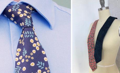 DIY Dapper Tie sewing tutorial