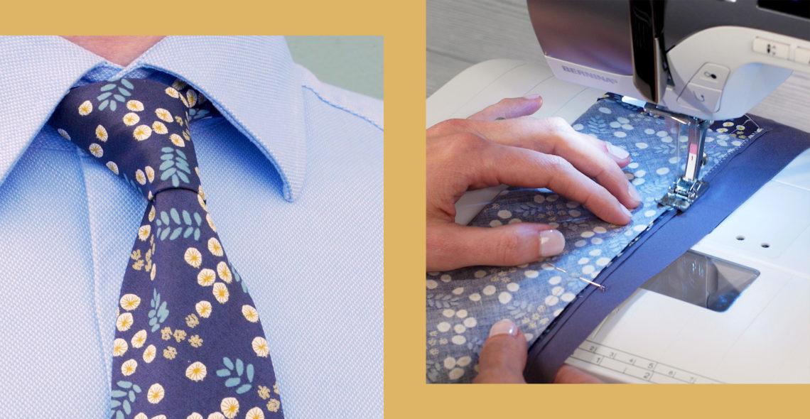 DIY Dapper Tie