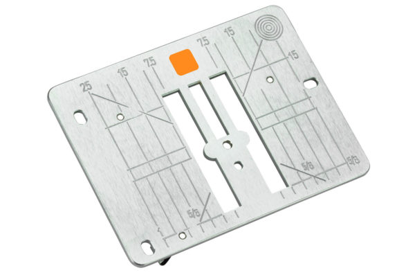 Heavy Duty Sewing - straight stitch plate